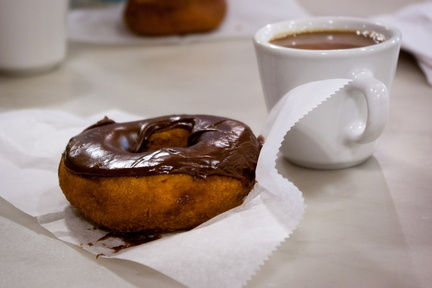 Coffee and donut, Wall Drug