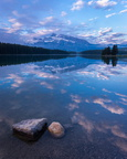 Two Jack Lake, dawn