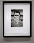 A Matthew Hunt photograph of a Duane Michals photograph of a Sherrie Levine photograph of a Walker Evans photograph