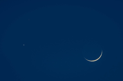 Moon, Venus, and Mars
