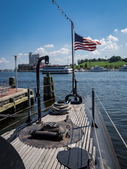 Inner Harbor from USS Torsk